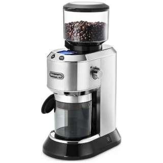 KG521J-M コーン式コーヒーグラインダー DEDICA(デディカ) メタルシルバー