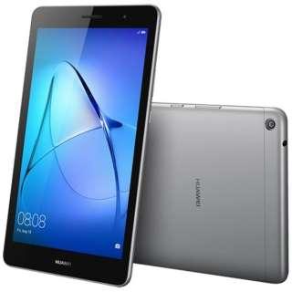 KOB-W09 Androidタブレット MediaPad T3 8 スペースグレー [8型 /ストレージ:16GB /Wi-Fiモデル]