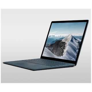 Surface Laptop[13.5型/SSD:256GB /メモリ:8GB /IntelCore i5/ コバルトブルー/2017年8月モデル]DAG-00094 ノートパソコン サーフェス ラップトップ