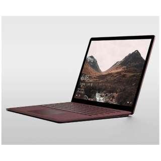 Surface Laptop[13.5型/SSD:256GB /メモリ:8GB /IntelCore i5/バーガンディ /2017年8月モデル]DAG-00078 ノートパソコン サーフェス ラップトップ