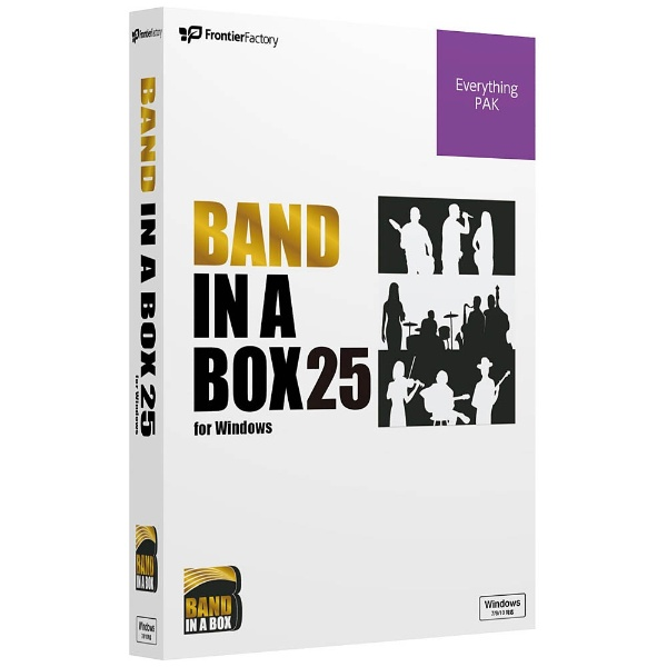 Band-in-a-Box 25 for Windows EverythingPAK