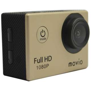 M101FHD アクションカメラ movio(モヴィオ) [フルハイビジョン対応 /防水]