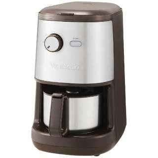VCD-200 コーヒーメーカー ブラウン [全自動 /ミル付き]