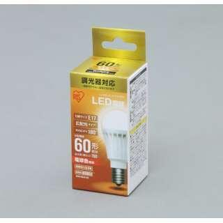 [広配光] LDA9L-G-E17D6BK LED電球 ECOHiLUX(エコハイルクス) ホワイト [E17 /電球色 /1個 /60W相当 /一般電球形 /広配光タイプ]