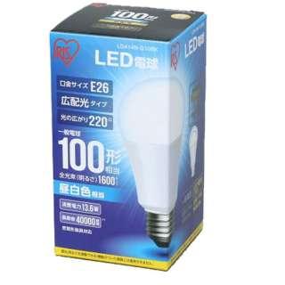 [広配光] LDA14N-G-10BK LED電球 ECOHiLUX(エコハイルクス) ホワイト [E26 /昼白色 /1個 /100W相当 /一般電球形 /広配光タイプ]