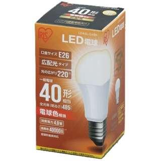 [広配光] LDA5L-G-4BK LED電球 ECOHiLUX(エコハイルクス) ホワイト [E26 /電球色 /1個 /40W相当 /一般電球形 /広配光タイプ]