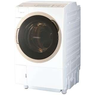 TW-117A6L-W ドラム式洗濯乾燥機 ZABOON(ザブーン) グランホワイト [洗濯11.0kg /乾燥7.0kg /ヒートポンプ乾燥 /左開き]