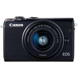 EOS M100 ミラーレス一眼カメラ EF-M15-45 IS STM レンズキット ブラック [ズームレンズ]