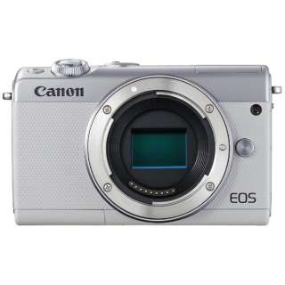 EOS M100 ミラーレス一眼カメラ ホワイト [ボディ単体]