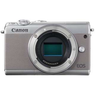 EOS M100 ミラーレス一眼カメラ グレー [ボディ単体]