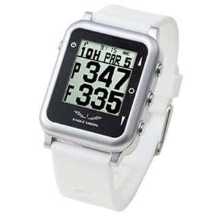 GPSゴルフナビゲーションウォッチ EAGLE VISION watch4(ホワイト) EV717WH