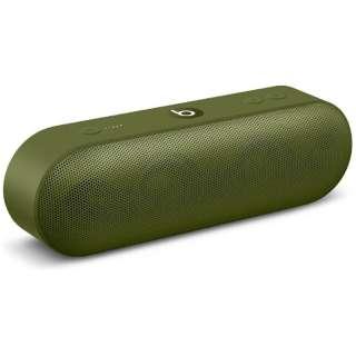 MQ352PA/A ブルートゥース スピーカー Beats Pill+ ターフグリーン [Bluetooth対応]