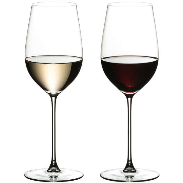 [正規品] リーデル ヴェリタス リースリング/ジンファンデル 2脚入り【ワイングラス】 [395ml]