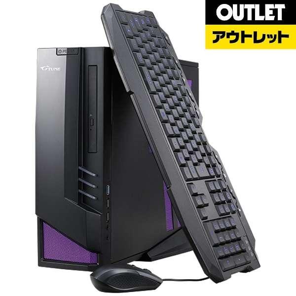 【アウトレット品】 LGI67M16S24H2X96BD ゲーミングデスクトップパソコン [モニター無し /intel Core i7 /メモリ:8GB /HDD:2TB /SSD:240GB] 【生産完了品】