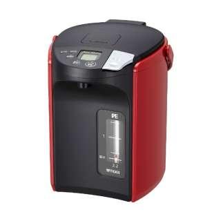 PIP-A220 電気ポット 蒸気レスVE電気まほうびん とく子さん レッド [蒸気レス機能つき /2.2L]