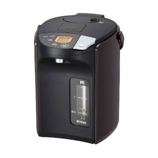 PIS-A220 電気ポット 蒸気レスVE電気まほうびん とく子さん ブラウン [蒸気レス機能つき /2.2L]