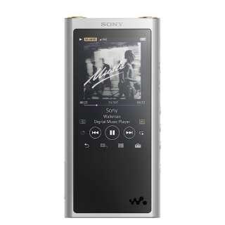 ウォークマン WALKMAN  2017年モデル[イヤホンは付属していません] ZXシリーズ シルバー [64GB /ハイレゾ対応]
