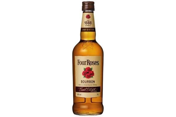 バーボンのおすすめ24選 「フォアローゼズ」(度数:40度)