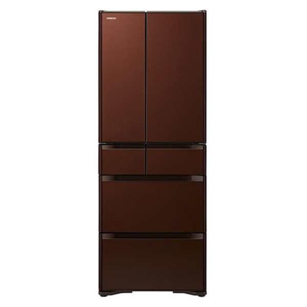 【送料無料】 クリスタルシャンパン R-XG6200G 日立 [冷凍冷蔵庫(615L・フレンチドア)] 真空チルド (XN)