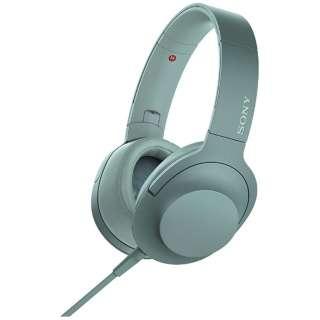 ヘッドホン h.ear on 2 ホライズングリーン MDR-H600A [リモコン・マイク対応 /φ3.5mm ミニプラグ /ハイレゾ対応]