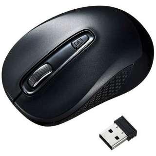 MA-WBL41BK マウス ブラック [BlueLED /3ボタン /USB /無線(ワイヤレス)]