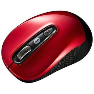 MA-BTBL29R マウス レッド [BlueLED /3ボタン /Bluetooth /無線(ワイヤレス)]
