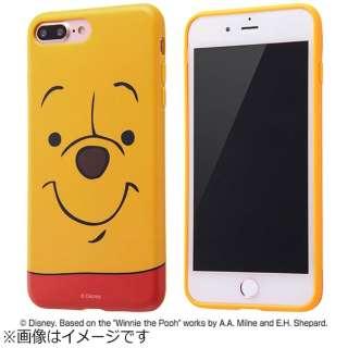 iPhone 7 Plus用 TPUソフトケース クローズアップ ディズニー くまのプーさん IN-DP7PH/PO