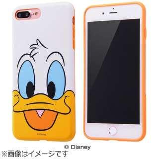 iPhone 7 Plus用 TPUソフトケース クローズアップ ディズニー ドナルドダック IN-DP7PH/DD