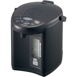 CV-EV22BK-HM 電気ポット VE電気まほうびん 優湯生 メタリックグレー [蒸気セーブ機能つき /2.2L]