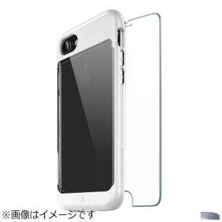 iPhone 8 Sentinel Contour Case ガラスバンドル ホワイト BCTA72G