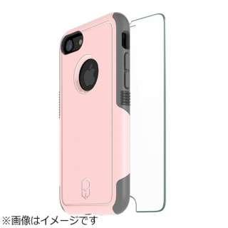 iPhone 8 Level Aegis Case ガラスバンドルパック ピンク BLAA74G