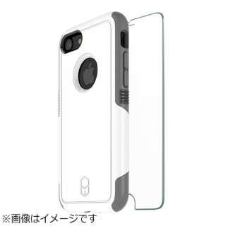 iPhone 8 Level Aegis Case ガラスバンドルパック ホワイト BLAA72G