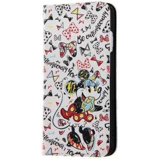 iPhone 8 ディズニーキャラクター 手帳型アートケース ミニーマウス10 INDP7S6MLC2MN009