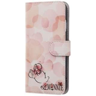 iPhone 8 ディズニーキャラクター 手帳型アートケース ミニーマウス17 INDP7S6MLC2MN016