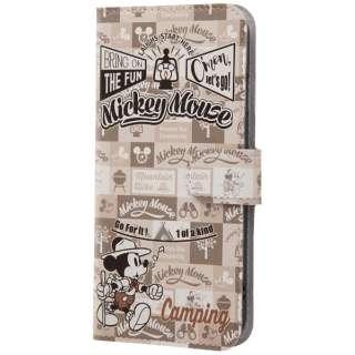 iPhone 8 ディズニーキャラクター 手帳型アートケース ミッキーマウス15 INDP7S6MLC2MK015