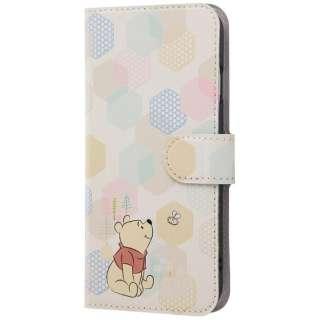 iPhone 8 Plus ディズニーキャラクター 手帳型アートケース くまのプーさん17 INDP7S6PMLC2PO017