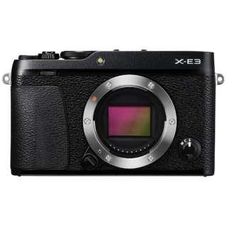 F X-E3-B ミラーレス一眼カメラ ブラック [ボディ単体]