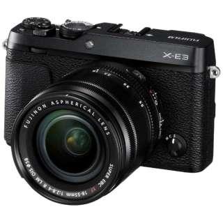 F X-E3-B ミラーレス一眼カメラ ブラック [ズームレンズ]