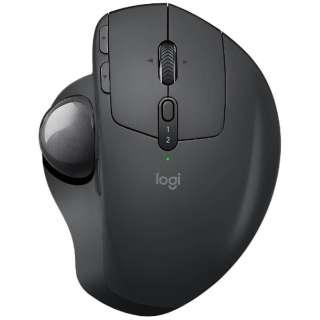 MXTB1s マウス MX ERGO ブラック [光学式 /6ボタン /USB /無線(ワイヤレス)]