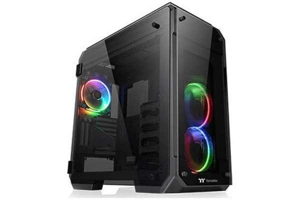 PCケースのおすすめ18選 THERMALTAKE「VIEW 71 TG RGB」CA-1I7-00F1WN-01