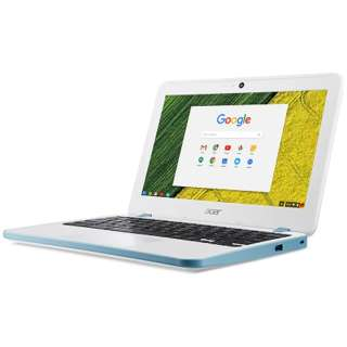 CB311-7H-N14N ノートパソコン Chromebook 11 パールホワイト [11.6型 /intel Celeron /eMMC:32GB /メモリ:4GB /2017年9月モデル]