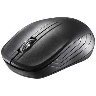 BSMRW050BK マウス BSMRW050シリーズ ブラック [IR LED /3ボタン /USB /無線(ワイヤレス)]