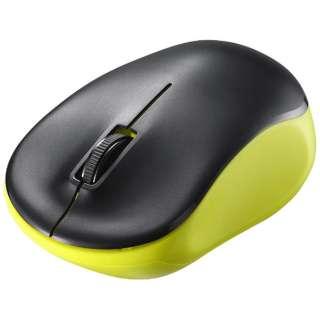 BSMRW118LM マウス BSMRW118シリーズ ライム [IR LED /3ボタン /USB /無線(ワイヤレス)]