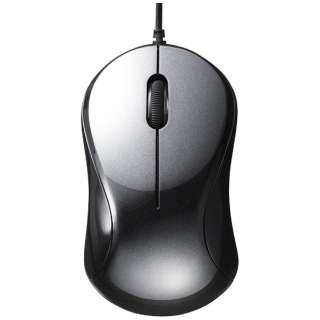 BSMBU108BK マウス BSMBU108シリーズ ブラック [BlueLED /3ボタン /USB /有線]