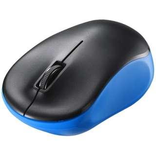 マウス ブルー BSMRW118BL [IR LED /無線(ワイヤレス) /3ボタン /USB]