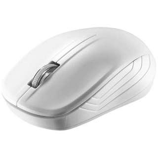 BSMRW050WH マウス BSMRW050シリーズ ホワイト [IR LED /3ボタン /USB /無線(ワイヤレス)]