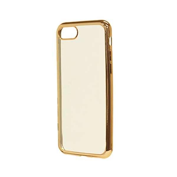 iPhone 8 サイドメッキTPUケース ゴールド 3456IP7SA