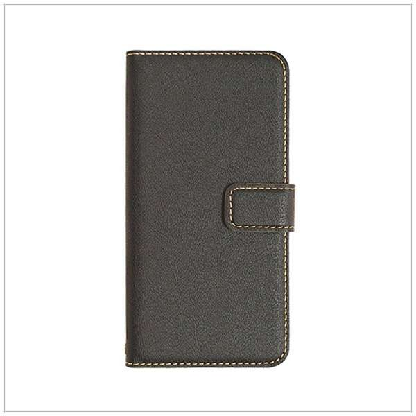 iPhone 8 薄型手帳ケース ブラック 3438IP7SA