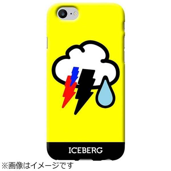 iPhone 8 / 7用 Benjamins ソフトケース Cloud Iceberg