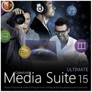 CYBERLINK MEDIA SUITE 15 ULTIMATE 【ダウンロード版】